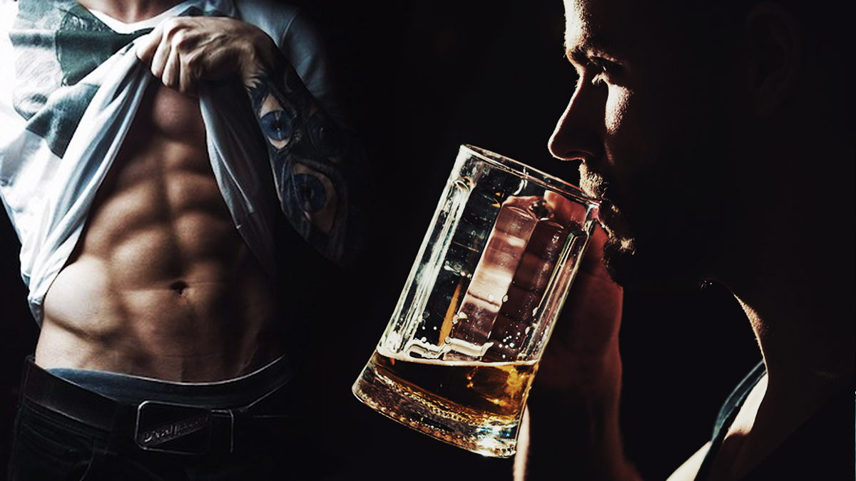 alcohol en fitness