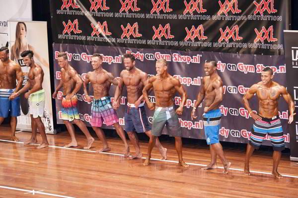 fitness wedstrijd begeleiding