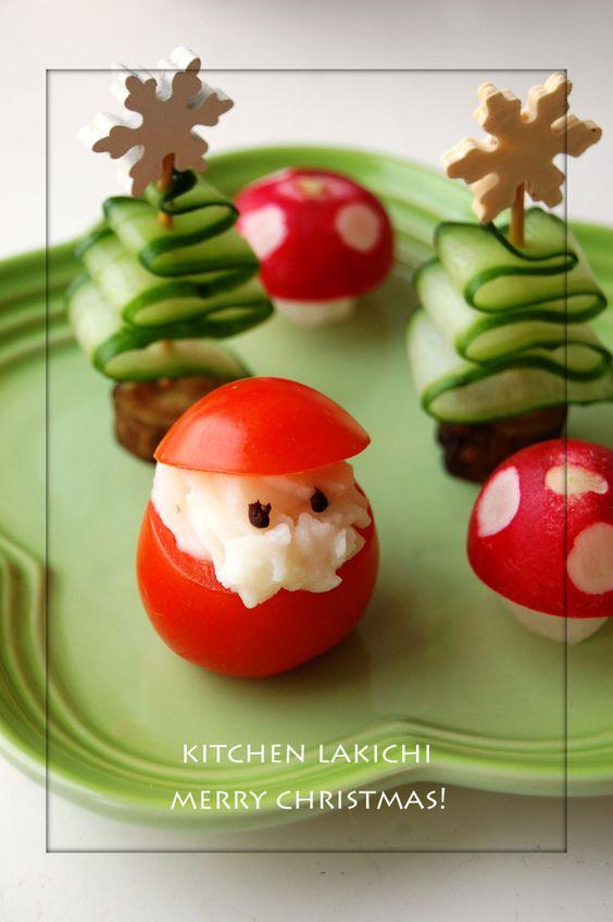 tomaat-kerstmannetjes