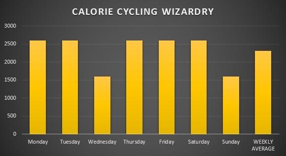 dagelijkse caloriebehoefte berekenen