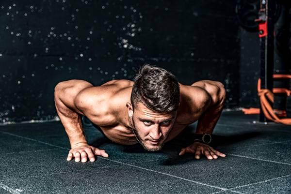 push ups spieren