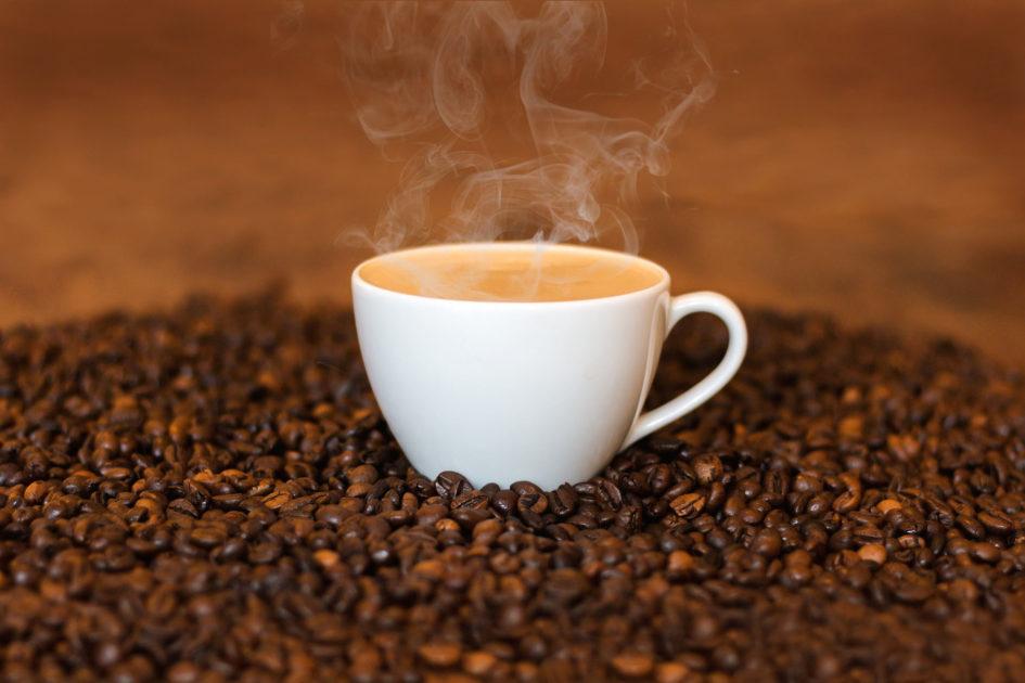 cafeine in koffie