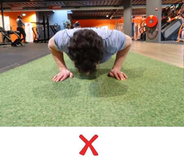 push ups trainen