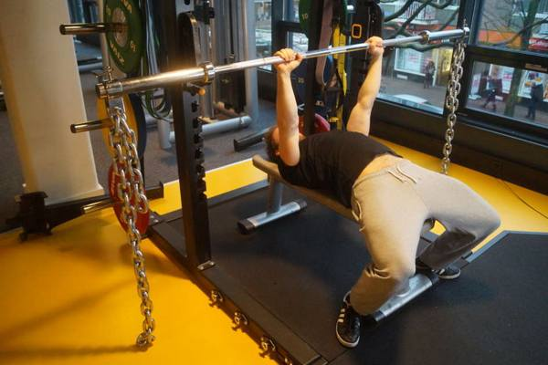 bench press ketting