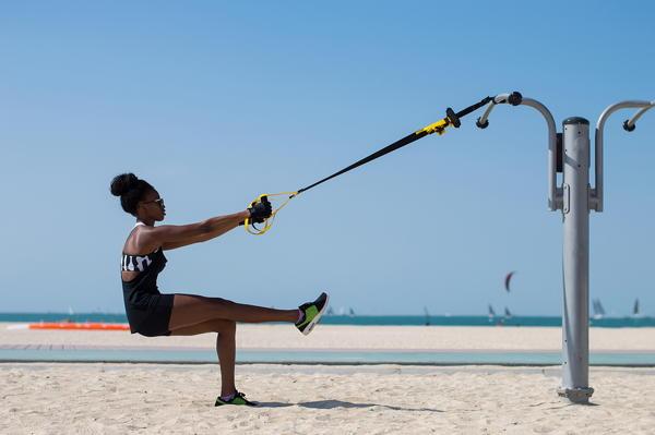 klein fitness thuis trainen of buiten