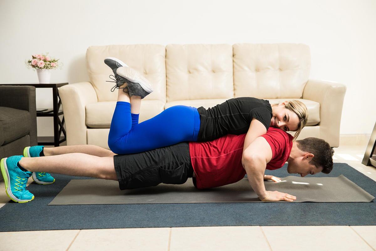 thuis trainen oefeningen